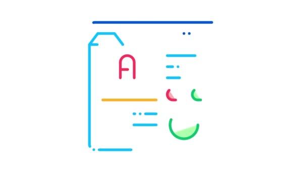 Animace ikon webových stránek s daní