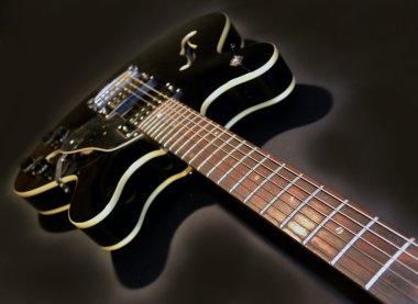 Electric guitar poo rock music