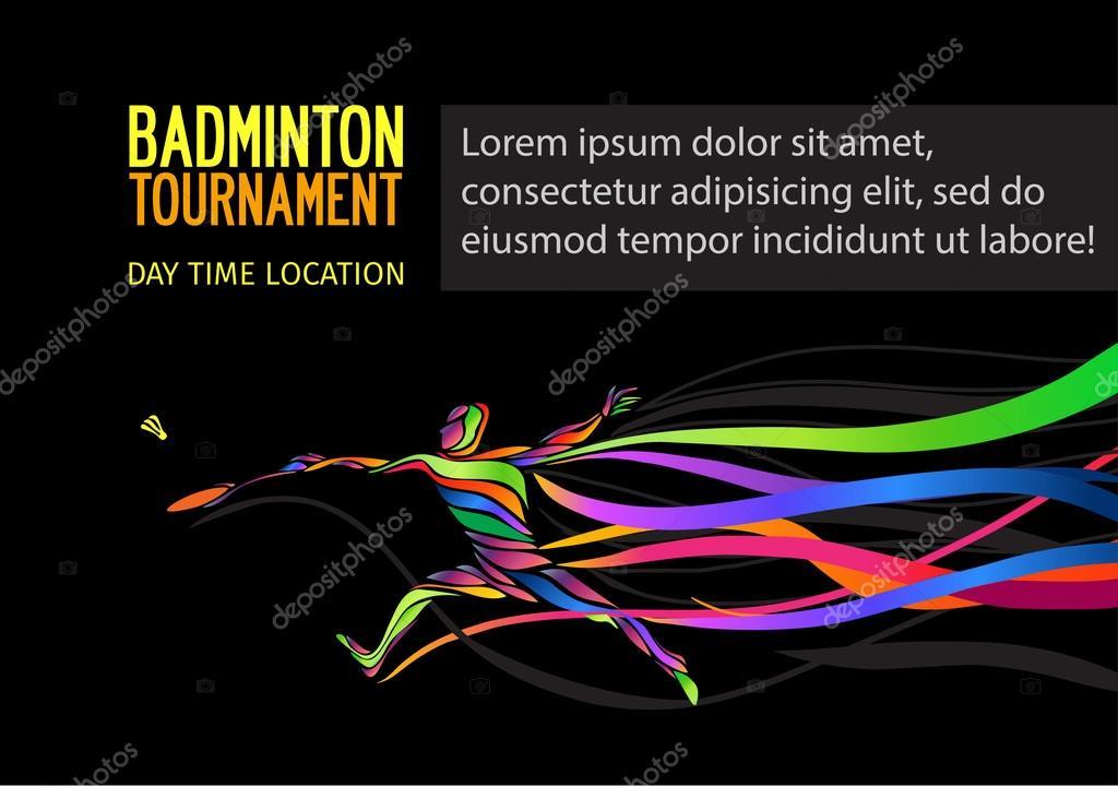 Badminton sport invitation poster or flyer background with empty badminton sport invitation poster or flyer background with empty space banner template vector by kluva maxwellsz