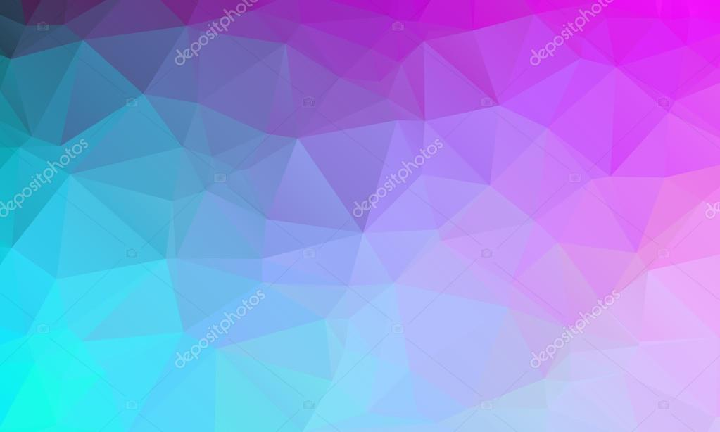 Purple Polygonal Abstract Background: Abstract Natural Polygonal Background. Smooth Spring