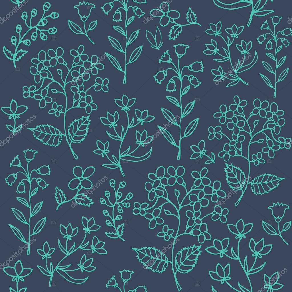 Floral seamless pattern.Seamless pattern can be used for wallpaper, pattern fills, web page background,surface textures.