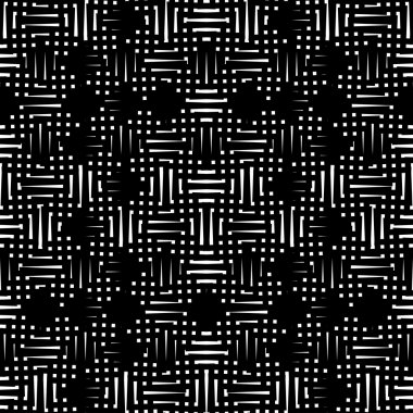 Black and white abstract pattern, background, texture. Endless texture can be used for printing onto fabric, paper or scrap booking, wallpaper, pattern fills, web page background, surface texture.