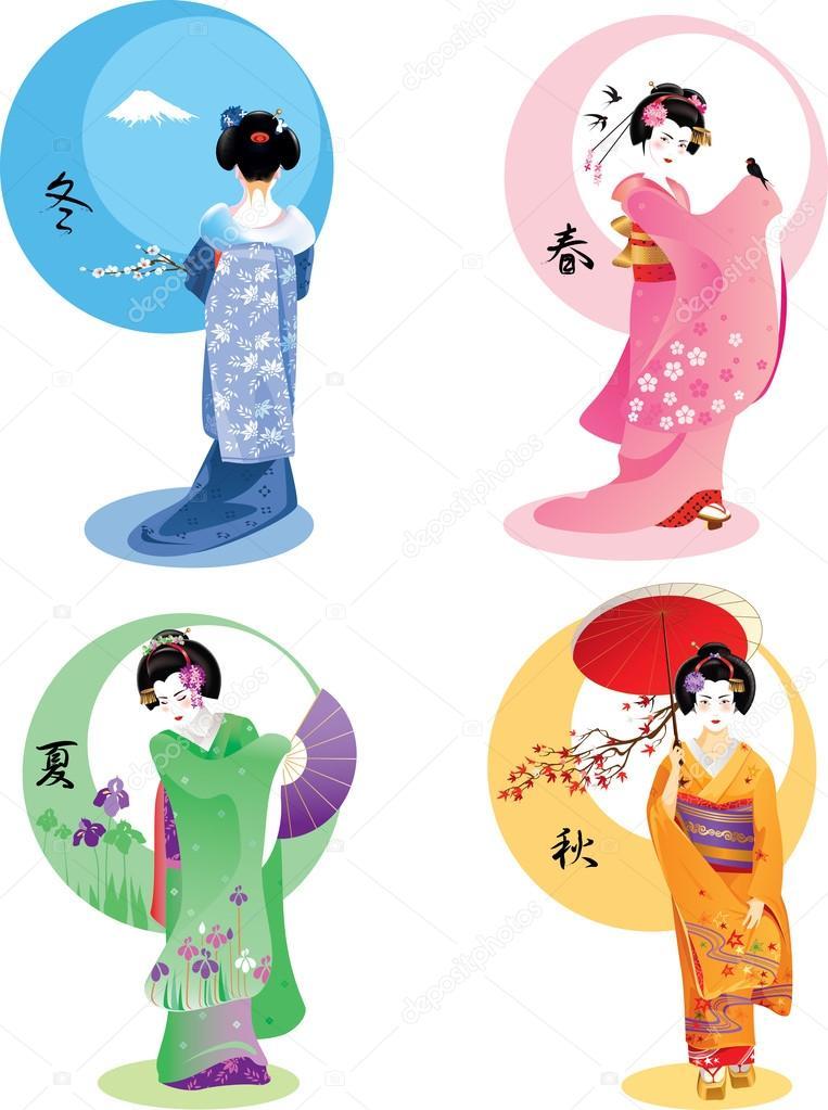Geisha seasons set