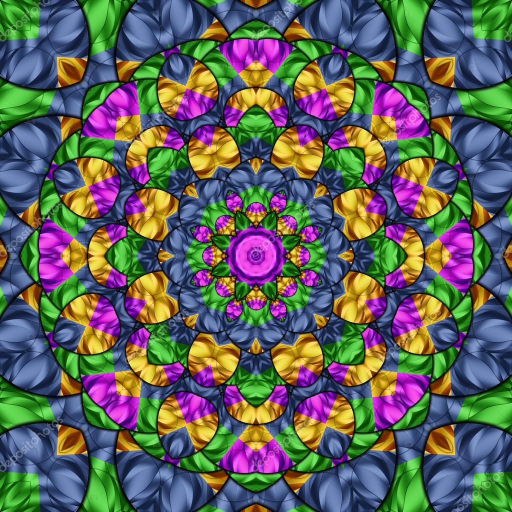 Калейдоскоп цвета
