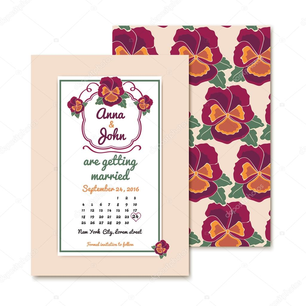 tarjetas de invitaciones vintage para decoración de la boda o ...