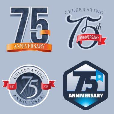 75 Years Anniversary Logo