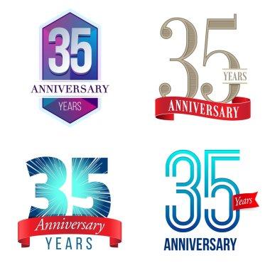 35 Years Anniversary Logo