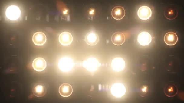 Lights Flashing Spotlight Vj Wall Stage