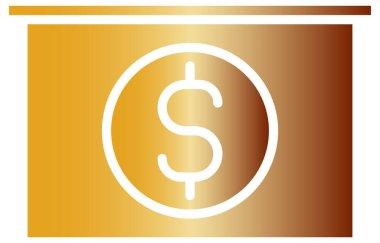 Dollar sign vector icon icon