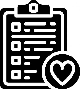 Vector illustration of Clipboard icon icon