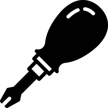 Puncturing Tool on white background icon