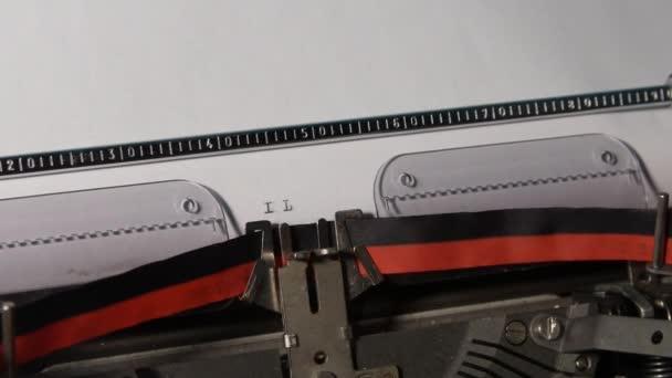 Schreibmaschine mit Text - ich liebe dich