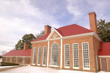 Mount Vernon, George Washington's Estate at the Potomac River, USA