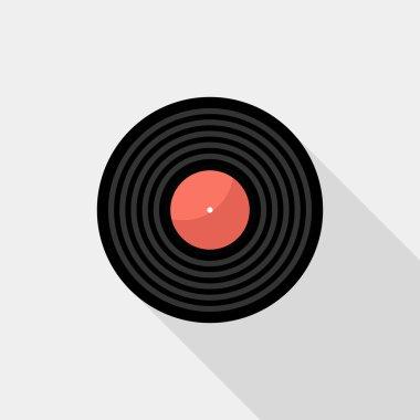 Gramophone record icon.