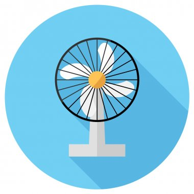 Household electric fan icon