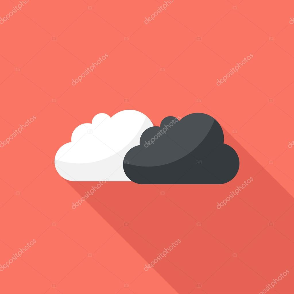 Clouds icon.
