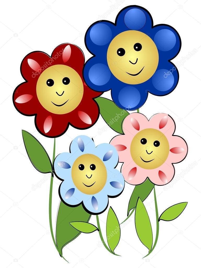 Znalezione obrazy dla zapytania kwiaty obrazek dla dzieci