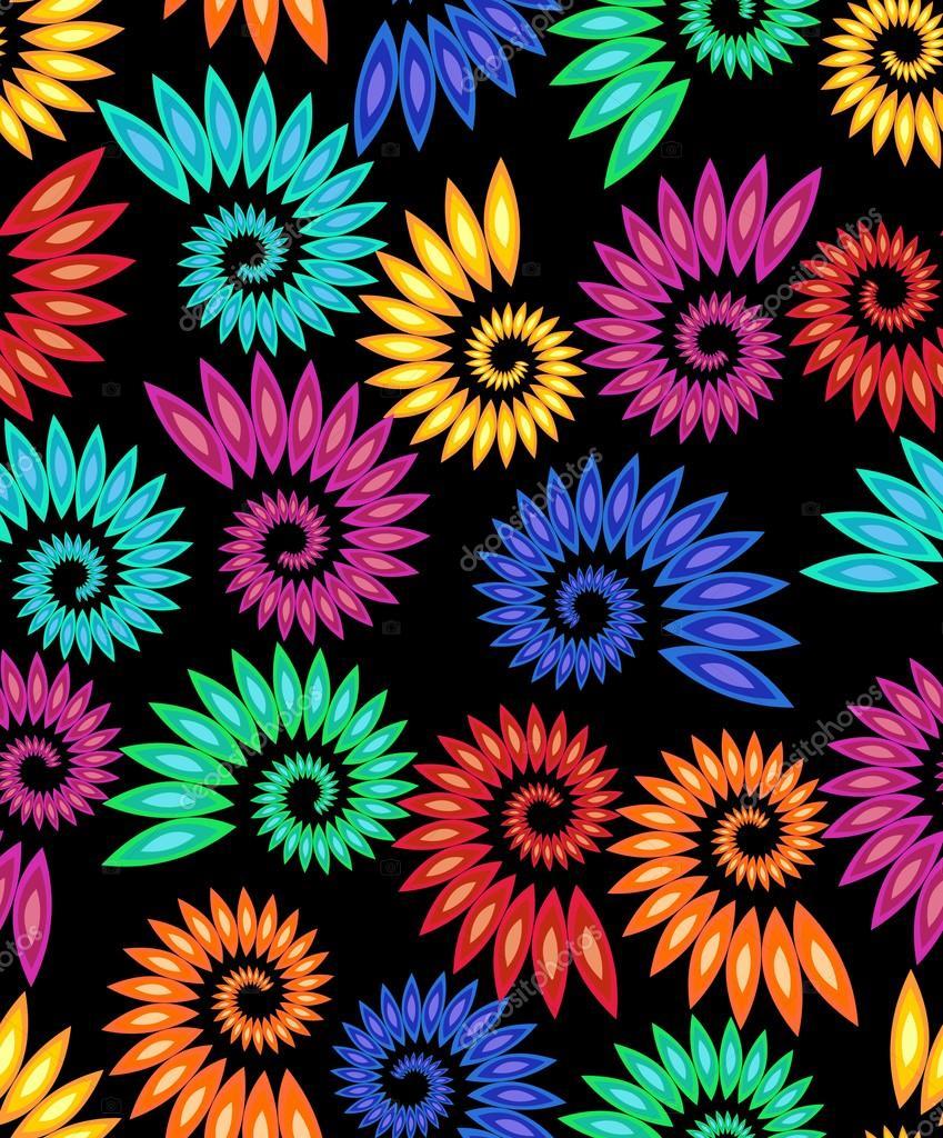 узоры картинки разноцветные
