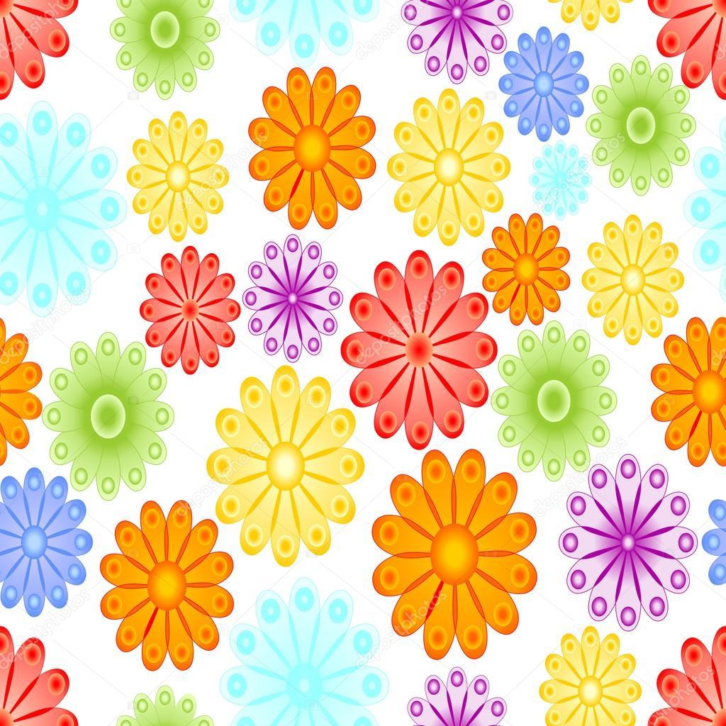 Suficiente Fundo de primavera alegre com motivo de flor abstrata. Flor de  KH59
