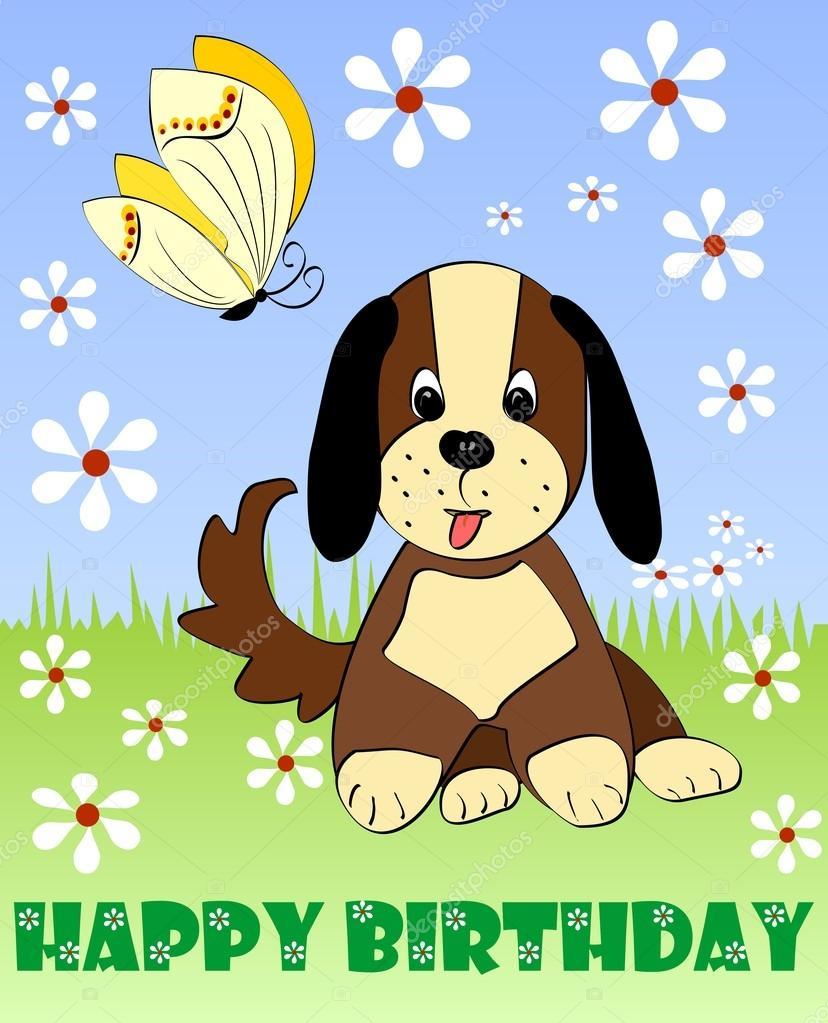 Célèbre Carte de joyeux anniversaire, enfants groupe anglo-saxon  LG49