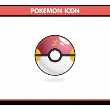 Icon Pokemon run under 3D graphics