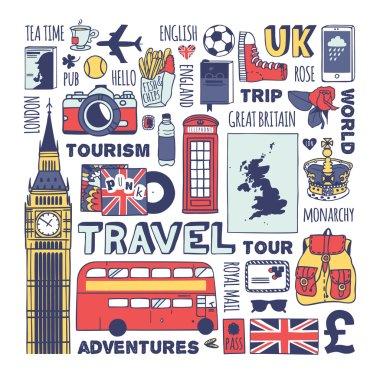 England travel set