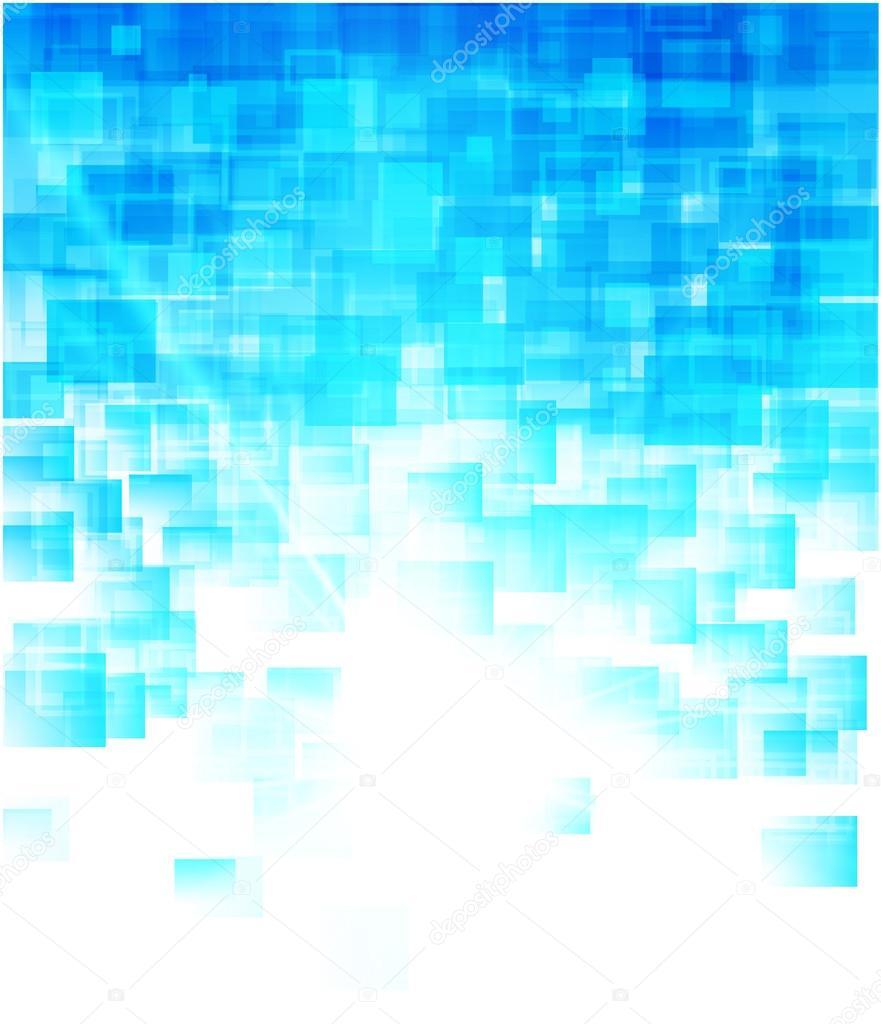 Sfondo Blu Geometrico Vettoriali Stock Skillup11 65982809