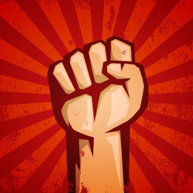 Hand Up Proletarian Revolution