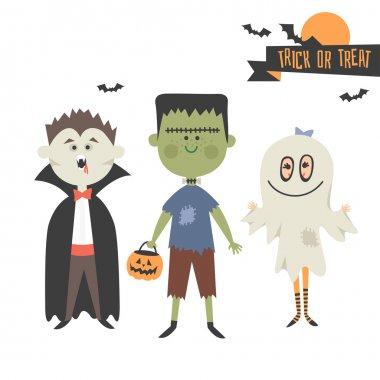 Halloween Characters Cartoon