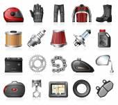 Photo Moto Shop Icons