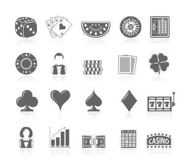 Black Icons - Gambling
