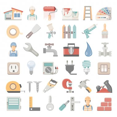 Flat Icons - Home Repair