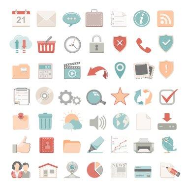 Flat Icons - Web