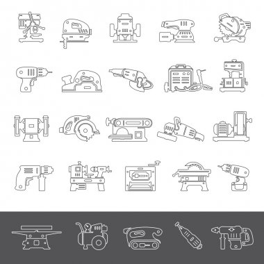 Line Icons - Power Tools