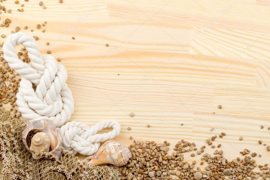 snail on a wooden surface, pebbles, shells, grass, wild flowers,