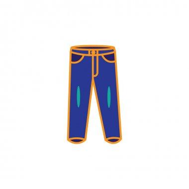 Pants icon vector design illustration icon