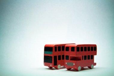 Two English bus