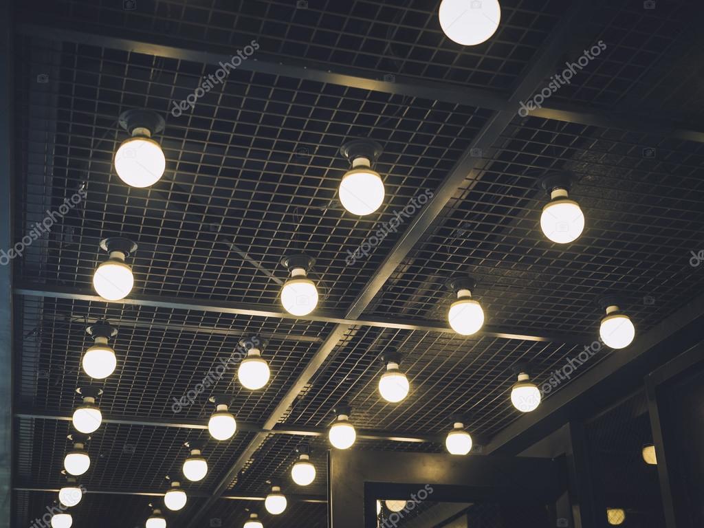 Verlichting decoratie evenement Festival achtergrond — Stockfoto ...