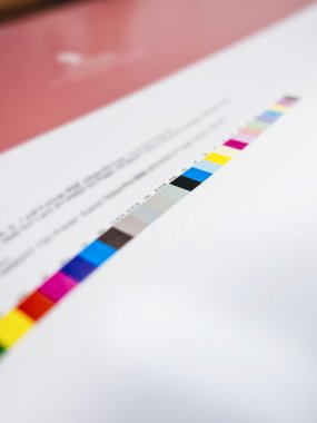 Colour chart on Digital Printing Offset