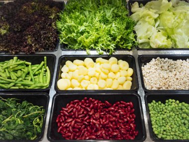 Salad Bar Fresh Vegetables Healthy food