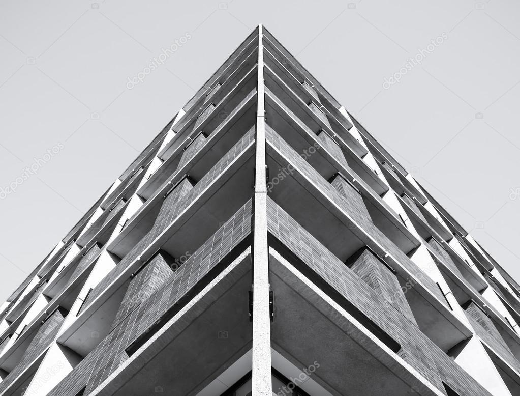 Particolare di architettura moderna costruzione pattern for Piani di architettura domestica moderna