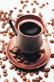 Fotografie Ročník pohár zrnkové kávy
