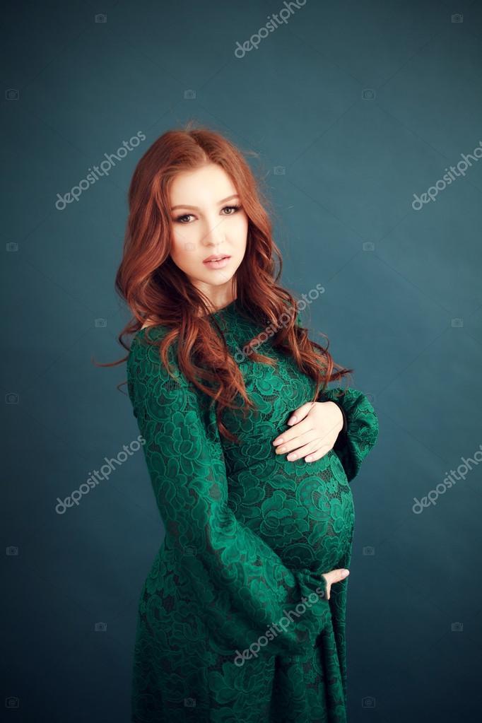 Verte Enceinte Femme Verte Robe Verte Enceinte Robe Femme Robe gyv7bfY6