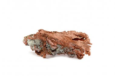 Isolated Native Copper Nugget