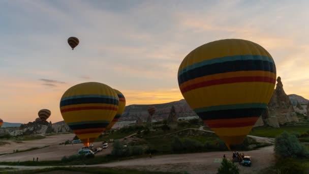 Flights on hot air balloons