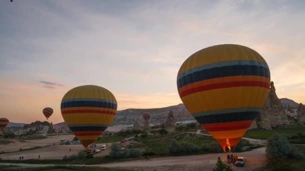 Lety na horkovzdušné balóny