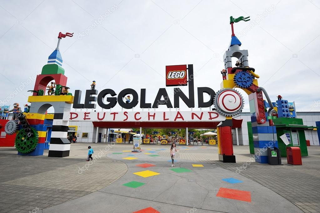 Gunzburg, GERMANY - MAY 6: Legoland - mini Europe from ...