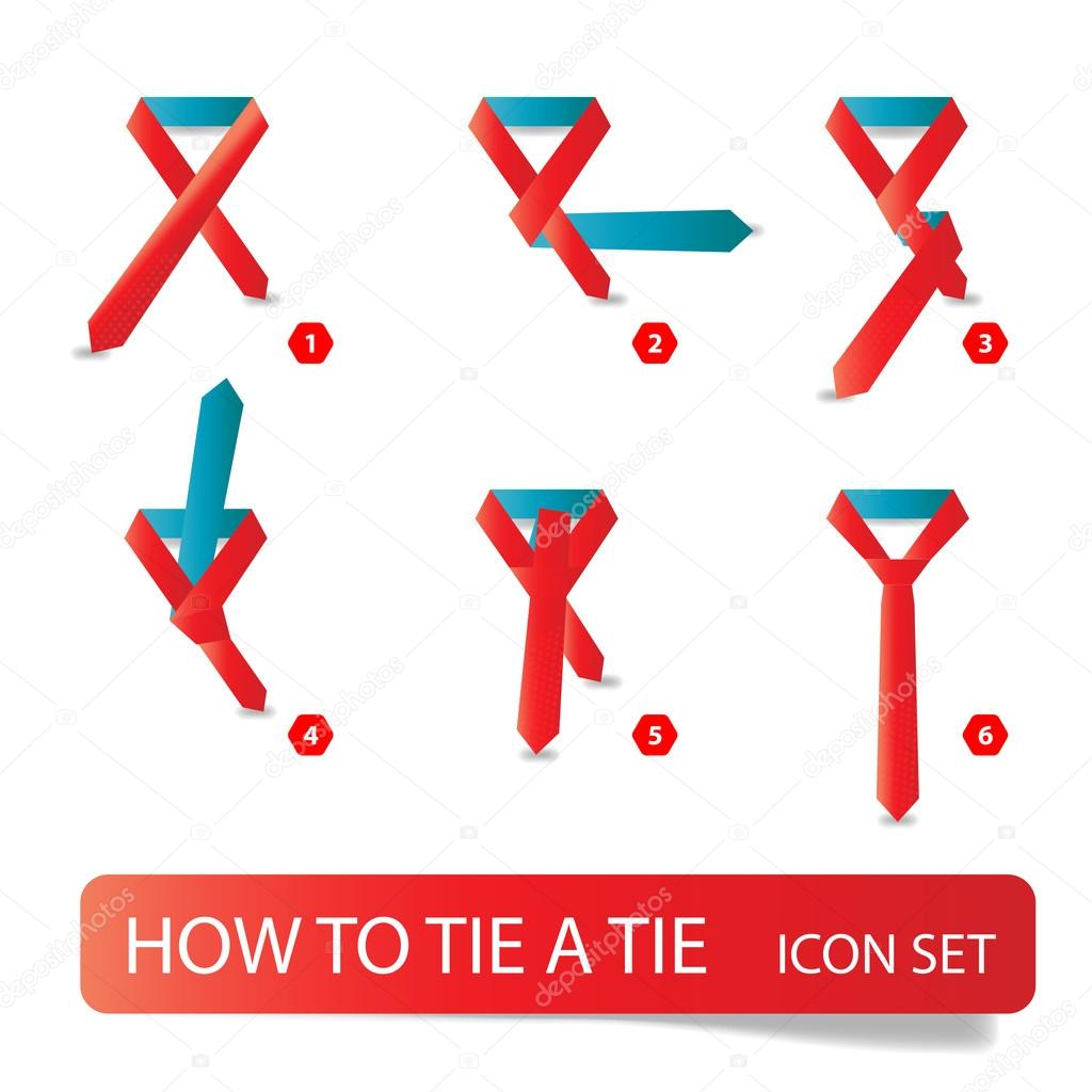 Vector instructions how to tie a tie stock vector forden vector instructions how to tie a tie stock vector 64666067 ccuart Choice Image