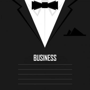 Business men's suit with tie