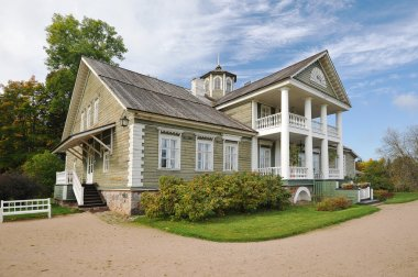 Museum estate of Petrovskoye, Pushkin mountains, Russia